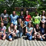 Youth band camp group picture