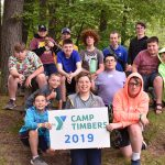 Camp Timbers group photo 2019