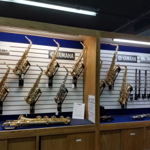Yamaha saxophones